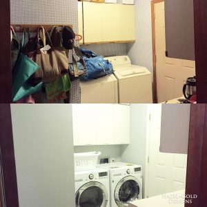 Laundry Room Reno – Before & After