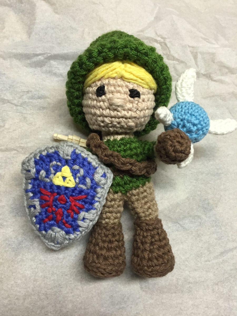 Link and Fairy Zelda amigurumi