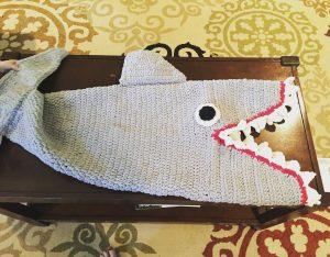 Crochet Sharks