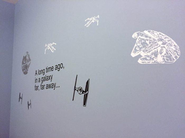 star wars room vinyl wall decal