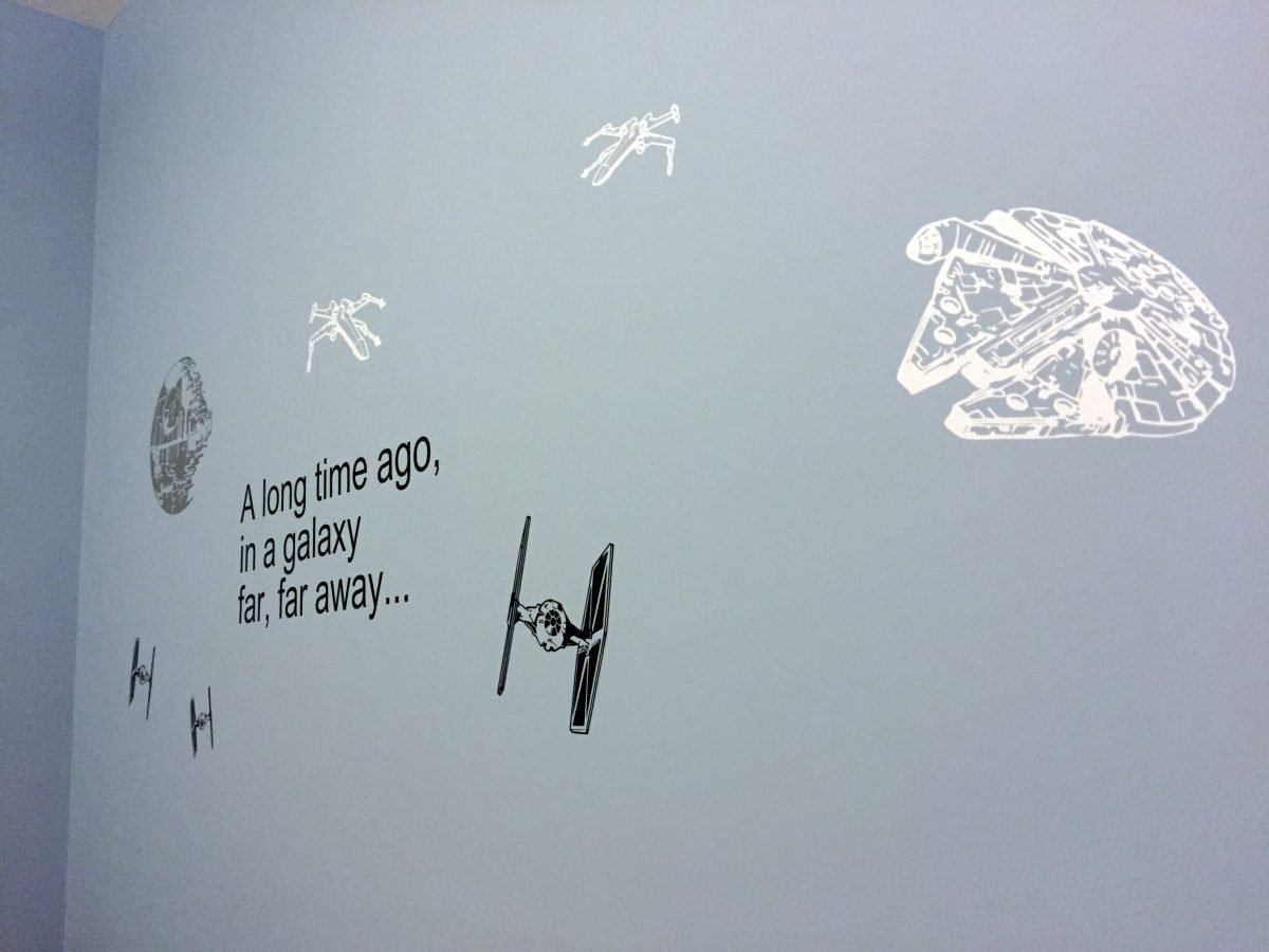 Star Wars Room Wall (vinyl decals)
