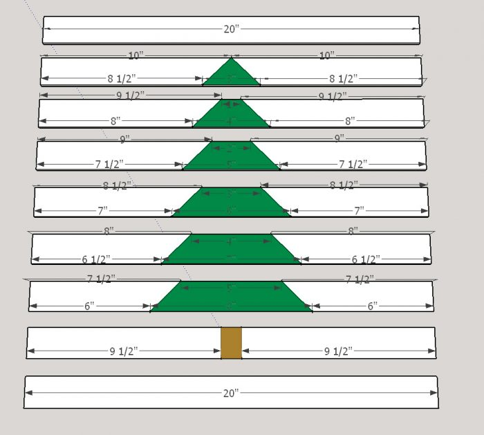christmas serving tray sketchup plans