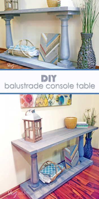 balustrade console table pinterest image