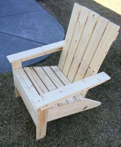 adirondack chair my first build