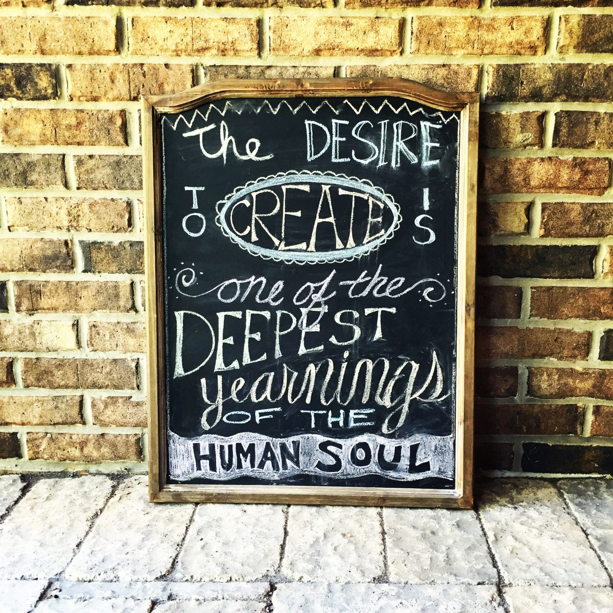 Favorite Quote Chalkboard