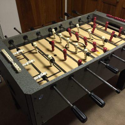 Foosball Table Quick Fix