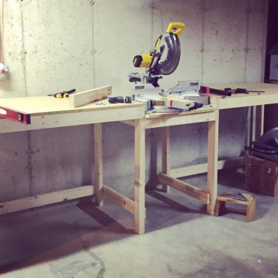 Miter Saw Worktable – Part 1