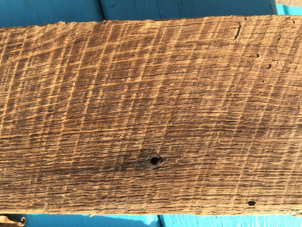 reclaimed barn wood closeup photo