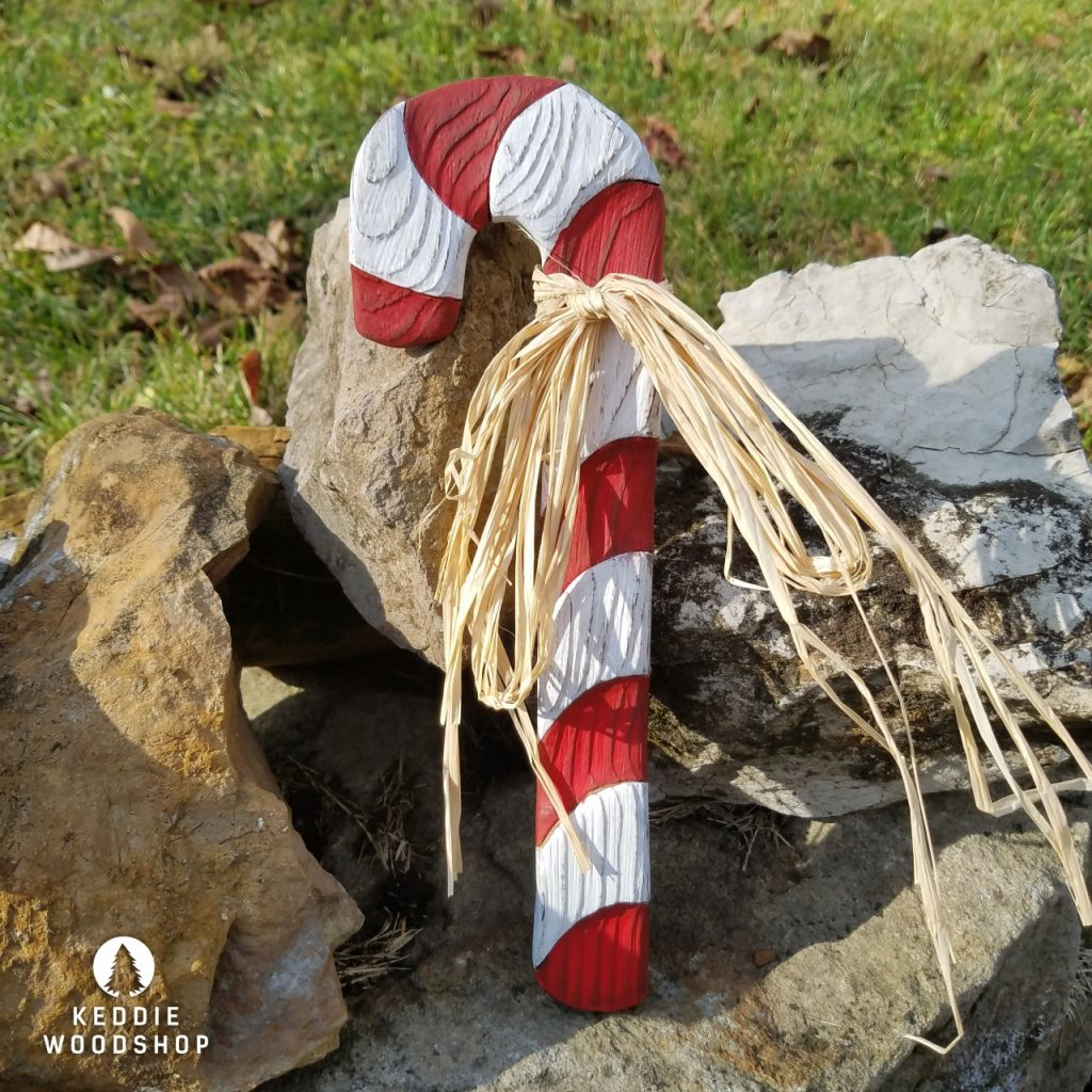 keddie woodshop revealed grain candy cane