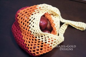Hazel's Market Bag - free crochet pattern - Hazel and Gold Designs