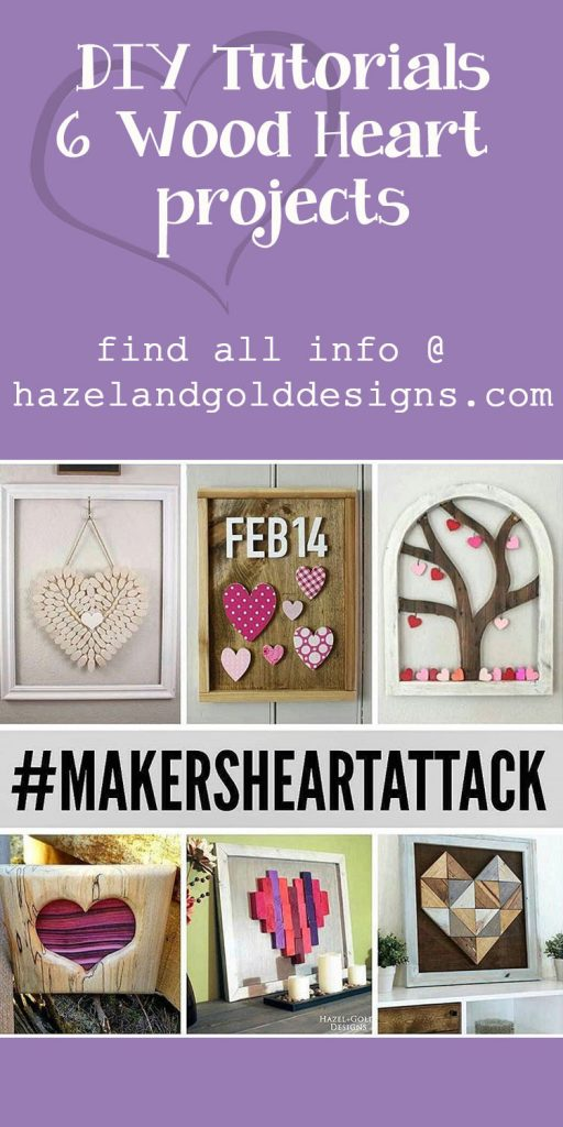 Makers Heart Attack Woodworkers Valentine's Decor Collaboration