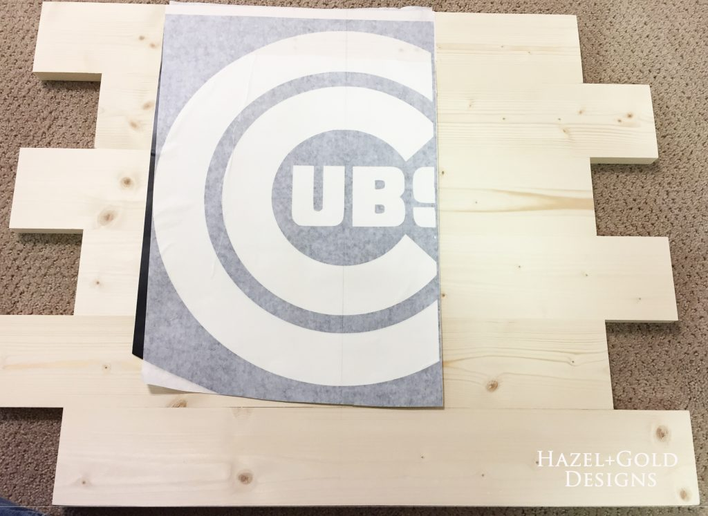 wooden cubs sign vinyl part 1