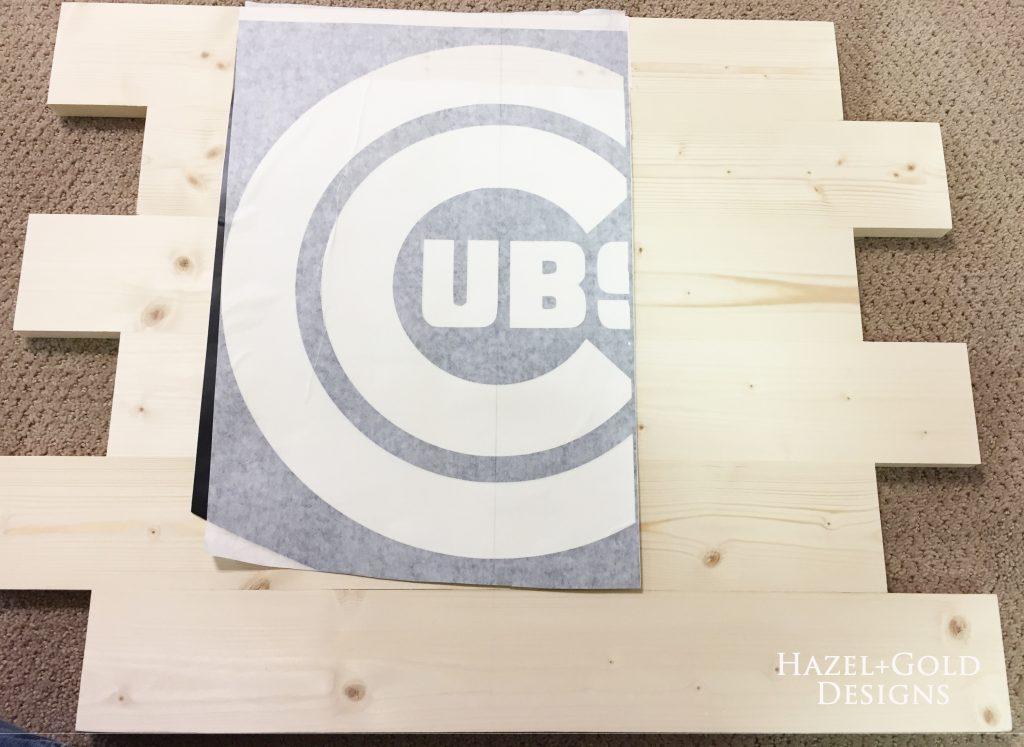 wooden cubs sign vinyl part 1