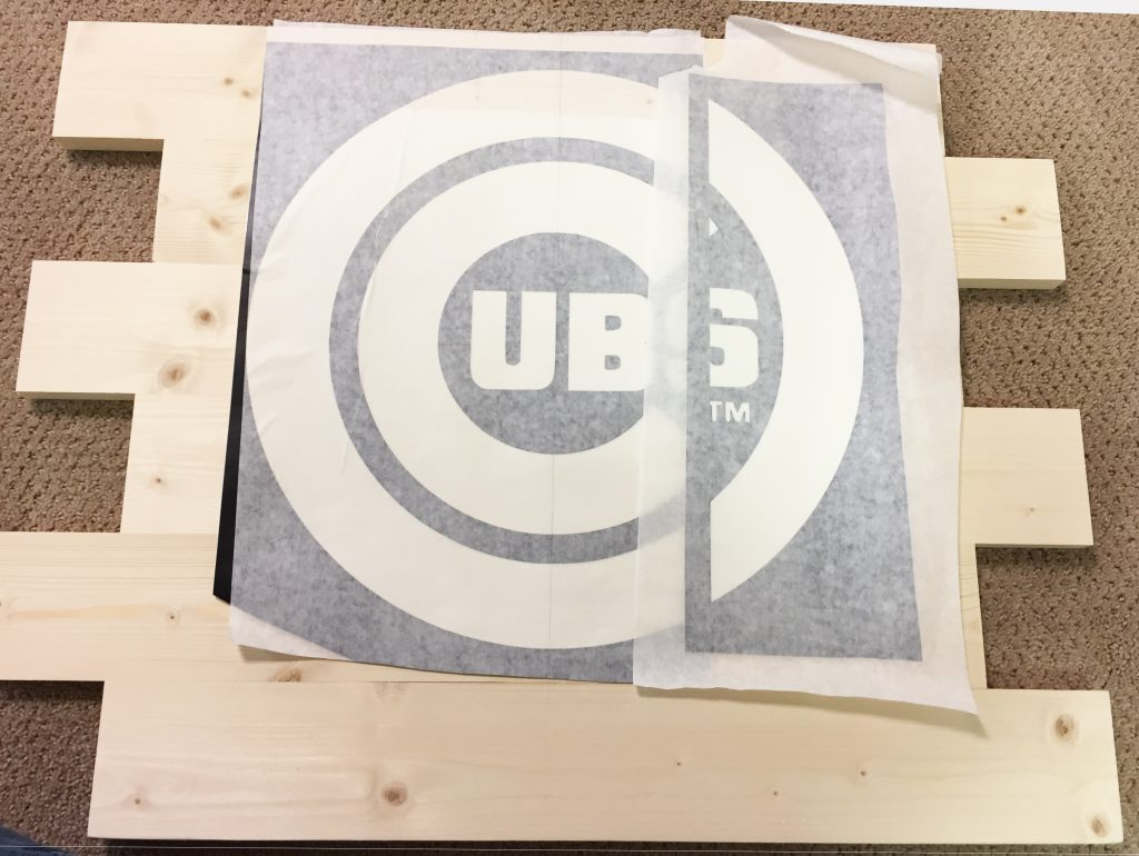 wooden cubs sign vinyl part 2