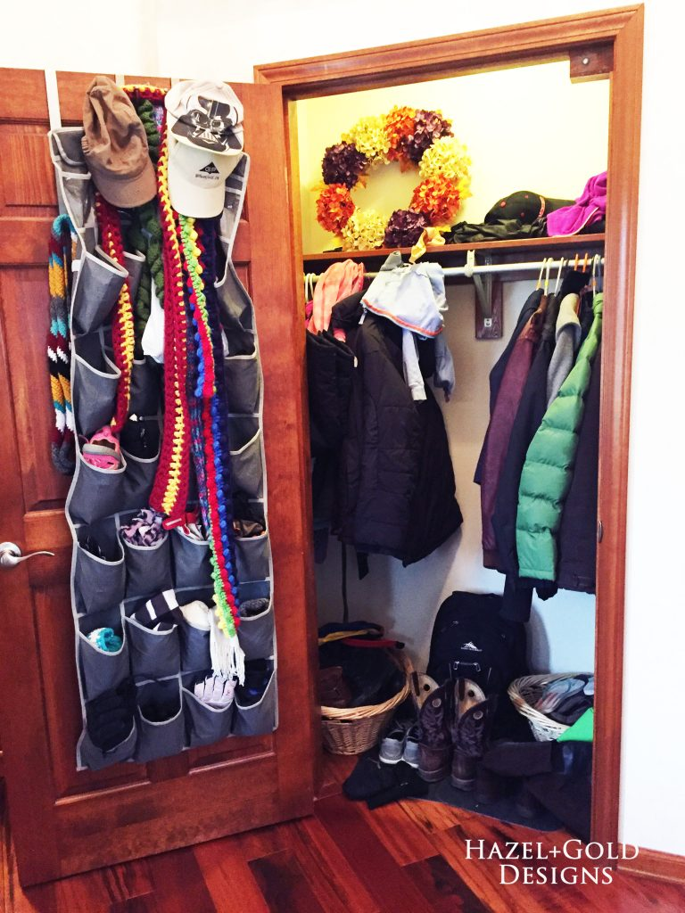 Foyer Closet Jobs : Diy entryway closet renovation