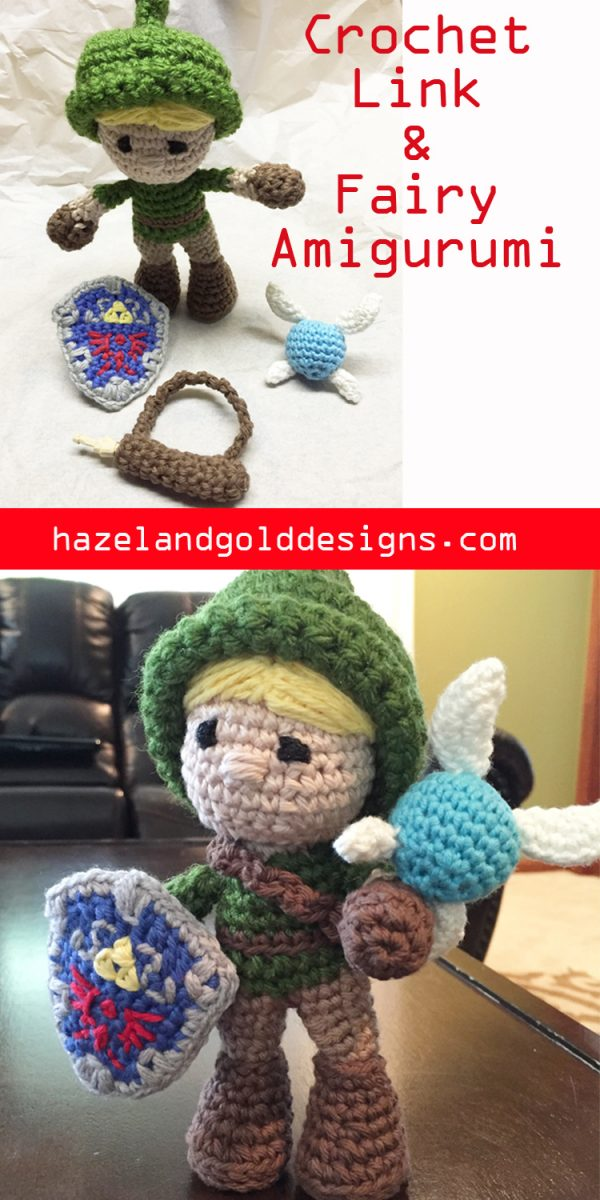 Link and Fairy amigurumi