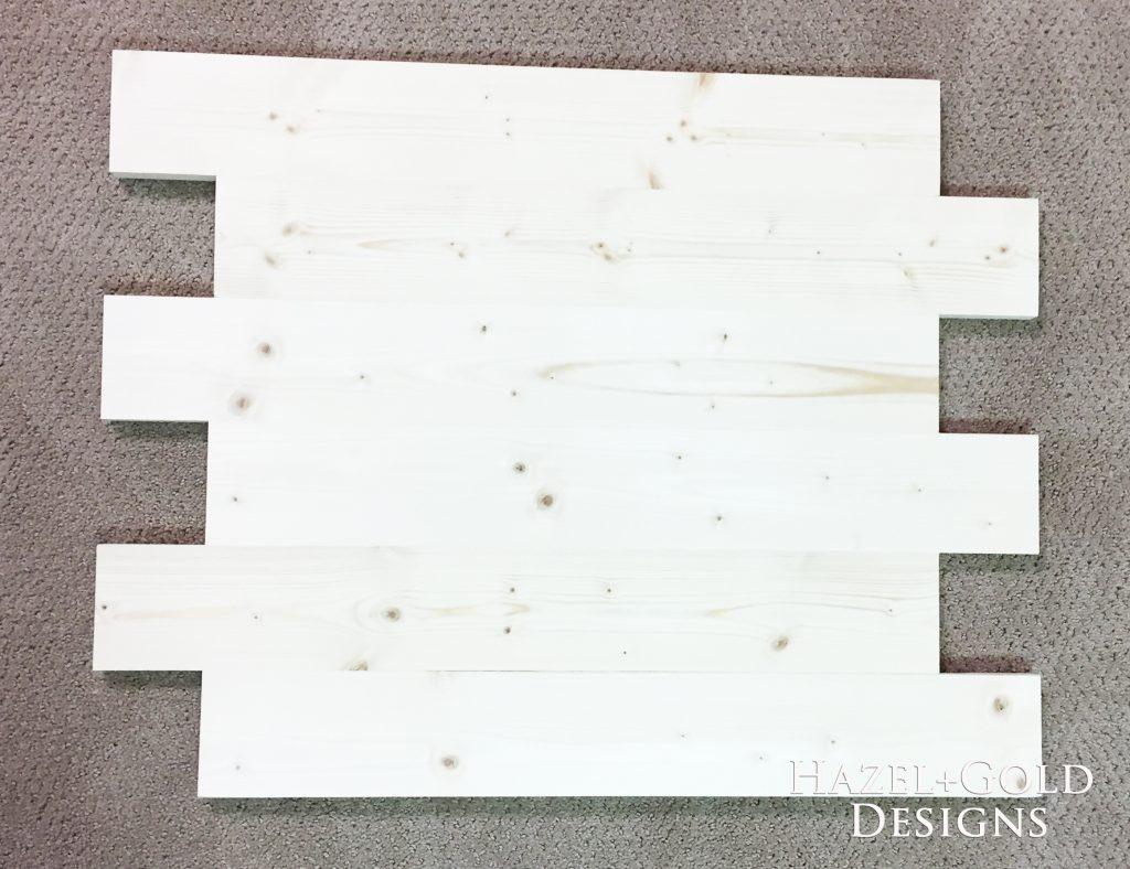 wooden cubs sign - glued boards