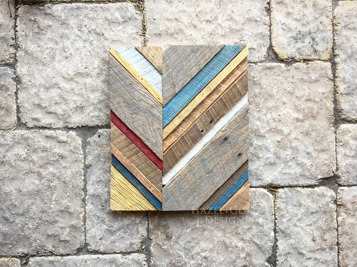 Reclaimed Barn Wood Art 2