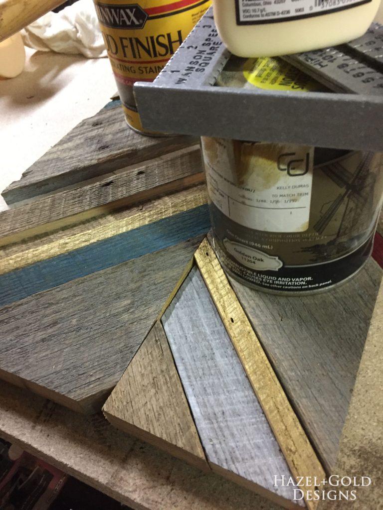 reclaimed barn wood art