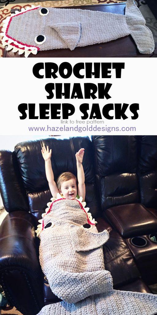 shark sleep sacks