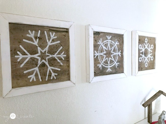 my love 2 create wall art snowflake