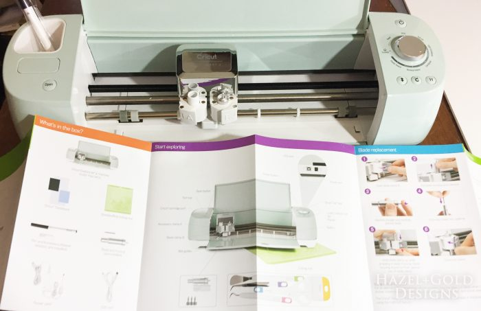 Cricut Intro - Machine and manual