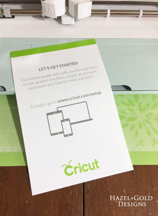Cricut Intro - online guide paper