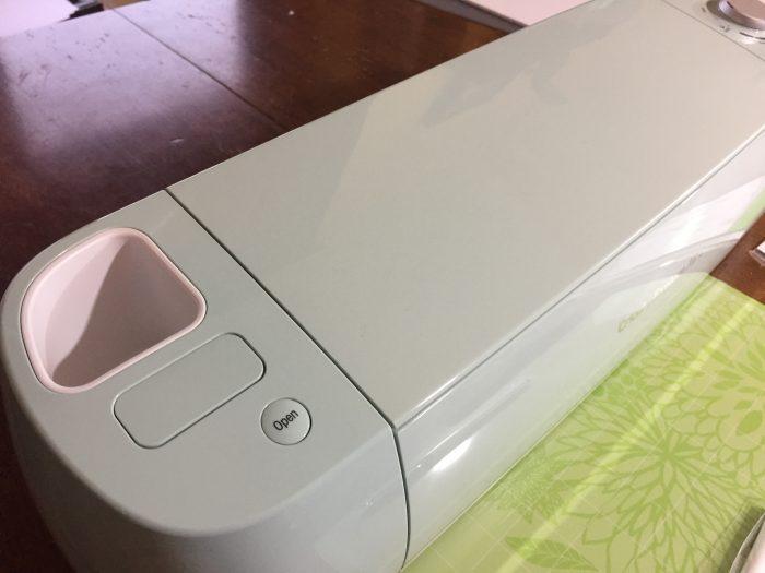 cricut intro - top of machine