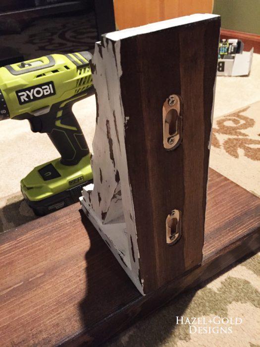 Osborne Wood Corbel Shelf - corbels back brackets