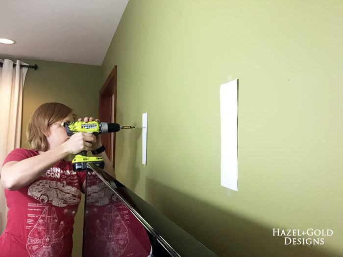 Osborne Wood Corbel Shelf - screwing into walls 1
