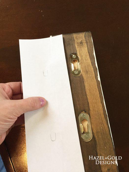 Osborne Wood Corbel Shelf - technique for arranging corbels