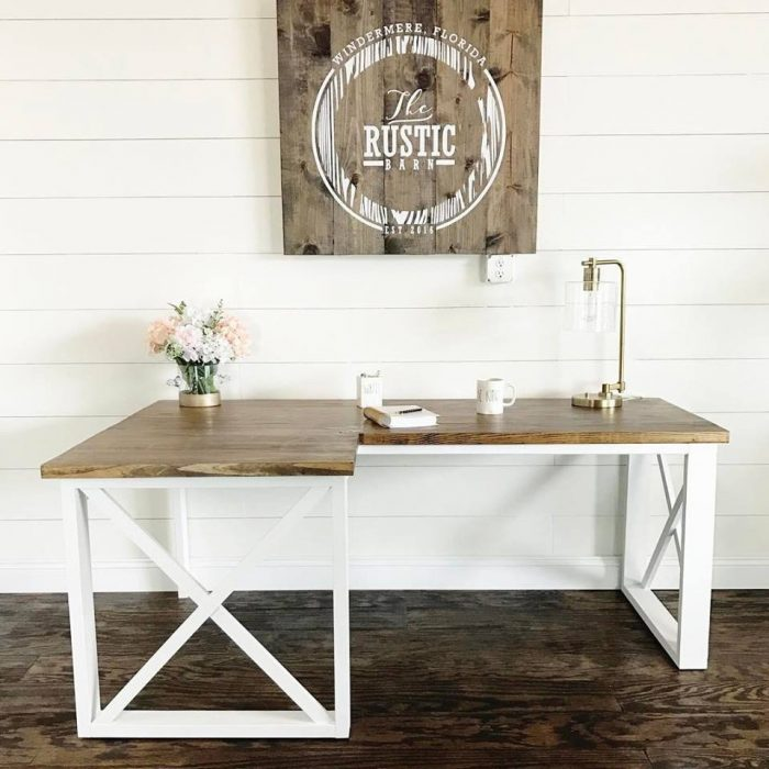Desk Designs Diy: Round Up DIY Desks