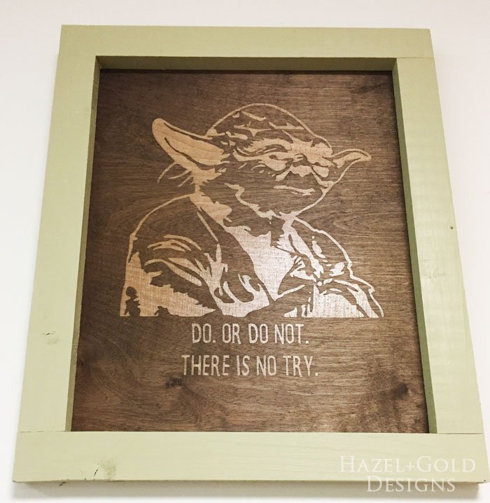 Happy Star Wars Day! DIY Yoda Wall Art (and more!)