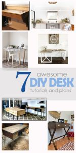 ROUND UP #2 – DIY Desks