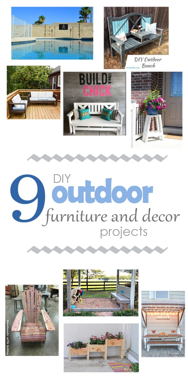 Dreaming of changes for your outdoor space? These outdoor projects will inspire you!