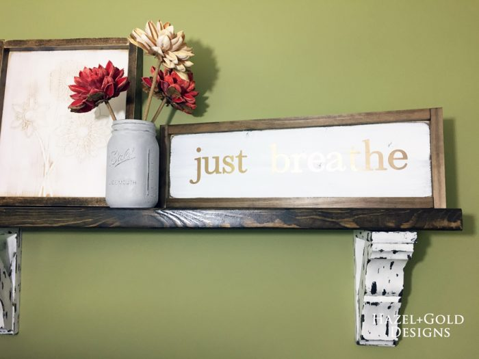 Just Breathe sign - finished-900