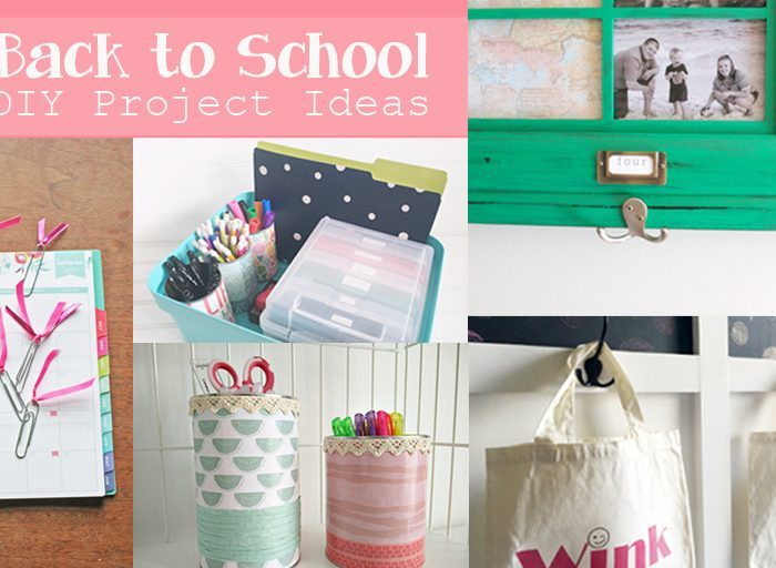 18 Back to School DIY Ideas – RoundUp #4