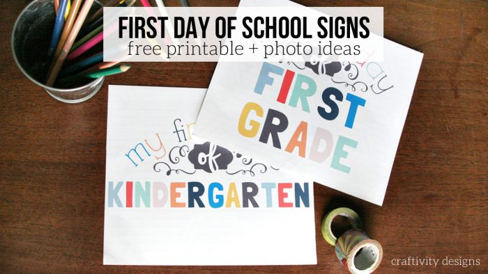 first-day-of-school-printable-signs-Craftivity-Designs