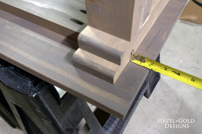 Turned Leg Coffee Table   Align Leg Sections Evenly