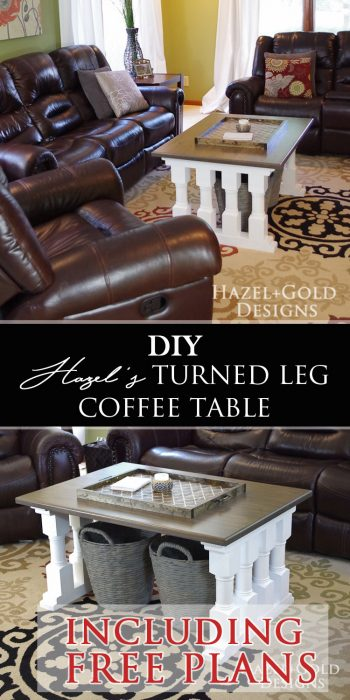 turned leg coffee table pinterest image free plans