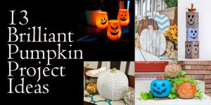 13 Brilliant DIY Pumpkin Projects