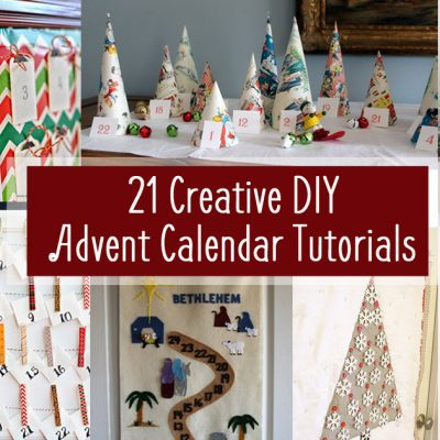 21 Creative DIY Advent Calendars