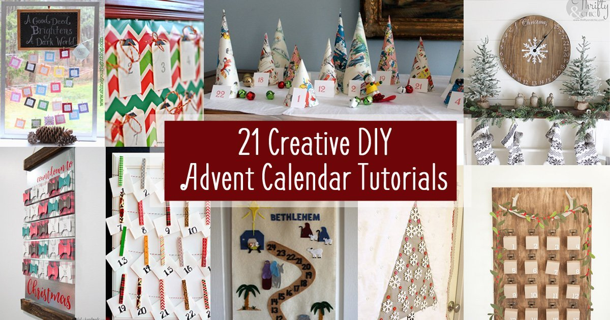 Unusual Advent Calendar Ideas : Unusual diy advent calendars ideas house plans