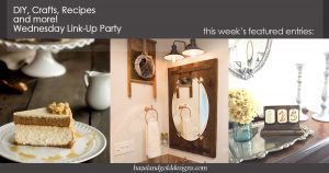 diy crafts recipes and more wednesday link party 62