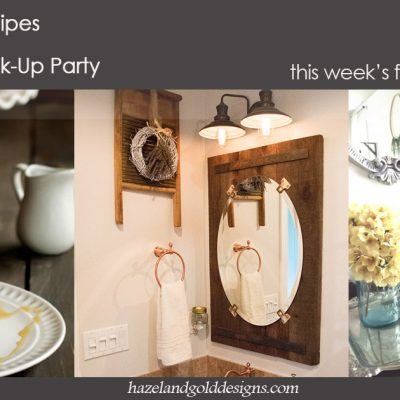 DIY, Crafts, Recipes and More! Link Party #62 (Wednesdays!)