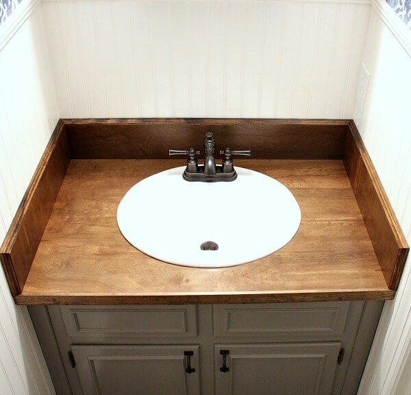 diy wood bathroom cabinets by noting grace