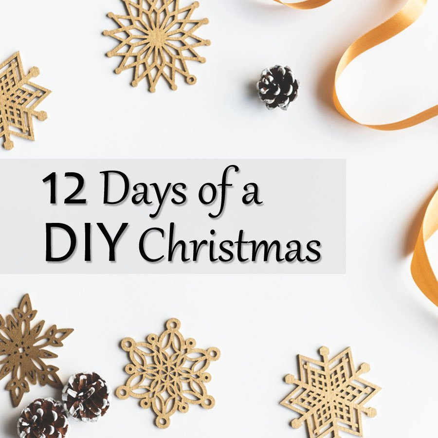 12 Days of a DIY Christmas! Free build plans from 12 different female woodworking bloggers, one released each day from Dec 1-12th! Don't miss it!