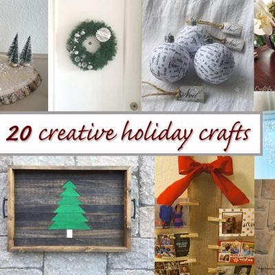 20 Creative Holiday Crafts to Make this Year