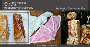 DIY, Crafts, Recipes and More! Wednesday Link Party #65