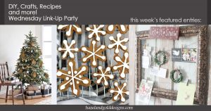 DIY, Crafts, Recipes and More Wednesday Link Party #66